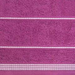 Ręcznik z bawełny ze sznurkowym zdobieniem 50x90cm - 50 X 90 cm - fioletowy 6
