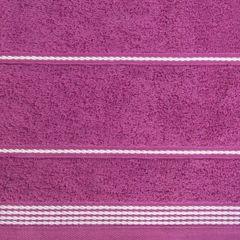 Ręcznik z bawełny ze sznurkowym zdobieniem 70x140cm - 70 X 140 cm - fioletowy 4