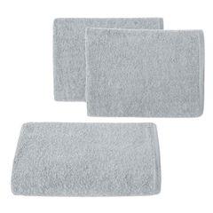 Ręcznik z bawełny gładki błękitny 50x90cm - 50 X 90 cm - niebieski 1