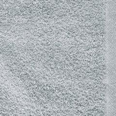 Ręcznik z bawełny gładki błękitny 50x90cm - 50 X 90 cm - niebieski 9