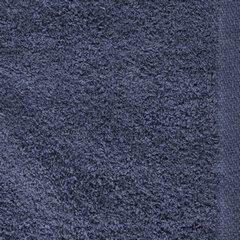 Ręcznik z bawełny gładki chabrowy 50x90cm - 50 X 90 cm - granatowy 3