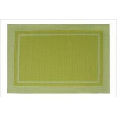 Zielona podkładka stołowa klasyczna 30x45 cm - 30 X 45 cm - jasnozielony 1