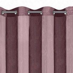 Zasłona pionowe pasy nowoczesna fiolet przelotki 140x250cm - 140 X 250 cm - fioletowy 3