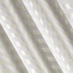 Zasłona gotowa beżowa z połyskującym zygazkiem 140x250 cm przelotki - 140 X 250 cm - beżowy 1