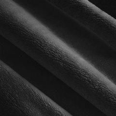 Puszysty czarny koc satynowy połysk 220x240 PIERRE CARDIN - 220x240 - Czarny 3