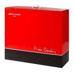 Granatowy EKSKLUZYWNY KOC Clara od PIERRE CARDIN 220x240 cm z akrylem - 220 X 240 cm - ciemnoniebieski 5
