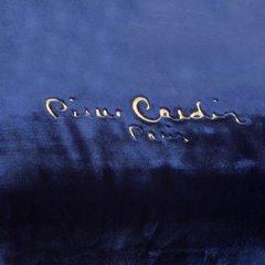 Granatowy EKSKLUZYWNY KOC Clara od PIERRE CARDIN 220x240 cm z akrylem - 220 X 240 cm - ciemnoniebieski 6