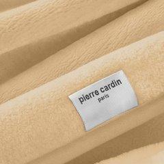 Beżowy EKSKLUZYWNY KOC Clara od PIERRE CARDIN 220x240 cm z akrylem - 220 X 240 cm - ciemnokremowy 3