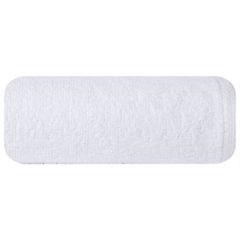 Ręcznik z bawełny gładki biały 50x90cm - 50 X 90 cm - biały 2