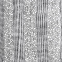 Zasłona w stylu eco subtelnepionowe pasy kremowa przelotki 140x250cm - 140 X 250 cm - kremowy 4