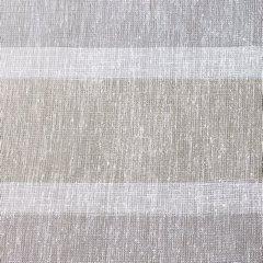 Zasłona kremowa o płóciennym splocie z dodatkiem błyszczącej nici 140x250cm przelotki - 140 X 250 cm - ecru/szary 4