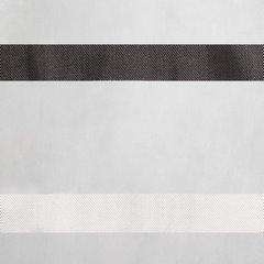 Zwiewna firanka paski grafitowe i kremowe 140x250 przelotki - 140 X 250 cm - kremowy 4