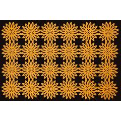Filcowa podkładka stołowa bieżnik pomarańczowy 30x120 cm - 30 X 120 cm - jasnopomarańczowy 2