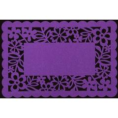Podkładka stołowa ażurowa z filcu 30x120cm fiolet - 30 X 120 cm - fioletowy 2