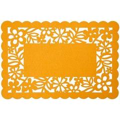 Podkładka stołowa ażurowa z filcu 30x120cm fiolet - 30 X 120 cm - fioletowy 3