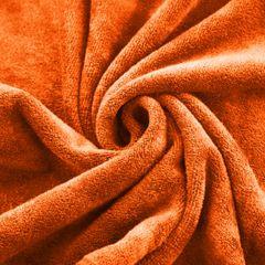 AMY JASNY POMARAŃCZOWY RĘCZNIK Z MIKROFIBRY SZYBKOSCHNĄCY 30x30 cm EUROFIRANY - 30 X 30 cm - pomarańczowy 5