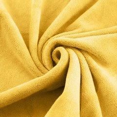 AMY ŻÓŁTY RĘCZNIK Z MIKROFIBRY SZYBKOSCHNĄCY 50x90 cm EUROFIRANY - 50 X 90 cm - żółty 5