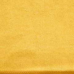 AMY ŻÓŁTY RĘCZNIK Z MIKROFIBRY SZYBKOSCHNĄCY 50x90 cm EUROFIRANY - 50 X 90 cm - żółty 3