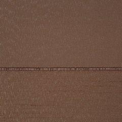 Zasłona w poziome pasy z połyskiem brązowa 140x250cm - 140 X 250 cm - brązowy 4