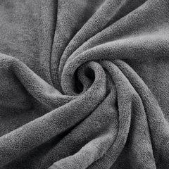 Ręcznik z mikrofibry szybkoschnący grafitowy 50x90cm  - 50 X 90 cm - stalowy 3