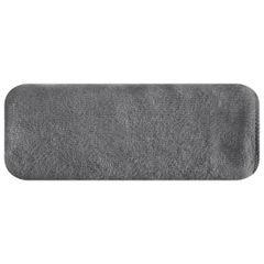 Ręcznik z mikrofibry szybkoschnący grafitowy 50x90cm  - 50 X 90 cm - stalowy 2
