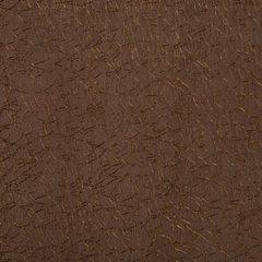 Zasłona dwuwarstwowa z delikatną siatką brązowa przelotki 135x300cm - 140 X 300 cm - brązowy 3