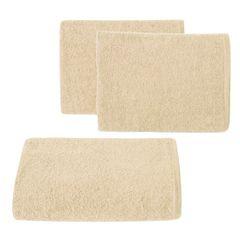 Gładki z bawełny gładki beżowy 30x50 cm - 30 X 50 cm - beżowy 1