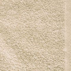 Gładki z bawełny gładki beżowy 30x50 cm - 30 X 50 cm - beżowy 4
