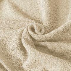 Gładki z bawełny gładki beżowy 30x50 cm - 30 X 50 cm - beżowy 5