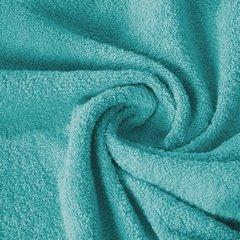 Ręcznik z bawełny gładki turkusowy 70x140cm - 70 X 140 cm - turkusowy 4
