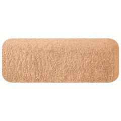 Ręcznik z bawełny gładki morelowy 50x90cm - 50 X 90 cm - pomarańczowy 2