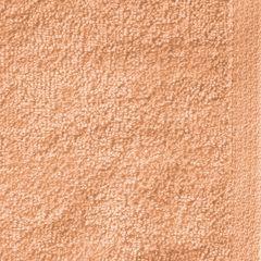 GŁADKI MORELOWY RĘCZNIK KĄPIELOWY Z BAWEŁNY 70x140 cm EUROFIRANY - 70 X 140 cm - pomarańczowy 4