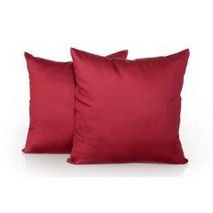Poszewka na poduszkę stalowa gładka 40 x 40 cm  - 40 X 40 cm - stalowy 4