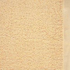 Ręcznik bawełniany gładki beżowy 50x90 cm - 50 X 90 cm - beżowy 8