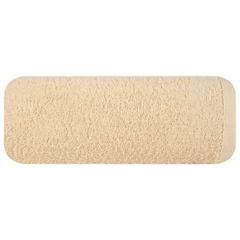 Ręcznik bawełniany gładki beżowy 50x90 cm - 50 X 90 cm - beżowy 2