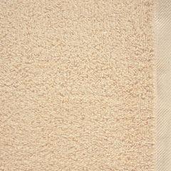 Ręcznik bawełniany gładki beżowy 50x90 cm - 50 X 90 cm - beżowy 4