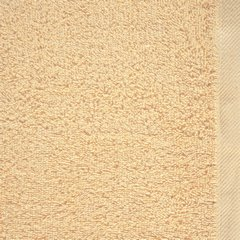 Gładki ręcznik kąpielowy beżowy 70x140 cm - 70 X 140 cm - beżowy 8