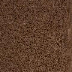 Gładki ręcznik kąpielowy brązowy 50x90 cm - 50 X 90 cm - brązowy 4