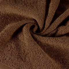 Gładki ręcznik kąpielowy brązowy 50x90 cm - 50 X 90 cm - brązowy 5