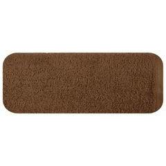 Gładki ręcznik kąpielowy brązowy 50x90 cm - 50 X 90 cm - brązowy 2