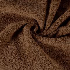 Gładki ręcznik kąpielowy brązowy 50x90 cm - 50 X 90 cm - brązowy 1