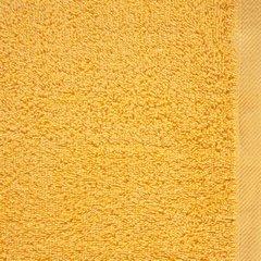 Ręcznik bawełniany gładki żółty 50x90cm - 50 X 90 cm - żółty 8