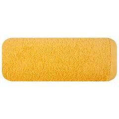 Ręcznik bawełniany gładki żółty 50x90cm - 50 X 90 cm - żółty 2