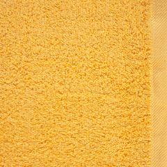 Ręcznik bawełniany gładki żółty 50x90cm - 50 X 90 cm - żółty 4