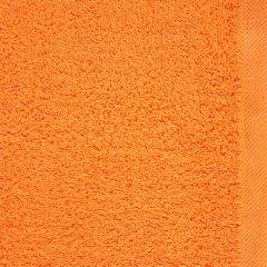 Ręcznik bawełniany gładki pomarańczowy 50x90 cm - 50 X 90 cm - pomarańczowy 4