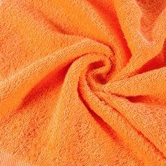 Ręcznik bawełniany gładki pomarańczowy 50x90 cm - 50 X 90 cm - pomarańczowy 5