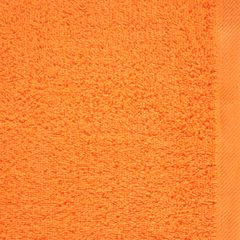 GŁADKI 2 POMARAŃCZOWY RĘCZNIK KĄPIELOWY Z BAWEŁNY 50x90 cm EUROFIRANY - 50 X 90 cm - pomarańczowy 4