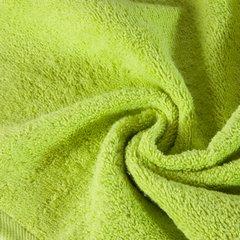 Gładki jednokolorowy ręcznik łazienkowy 50x90cm - 50 X 90 cm - zielony 5