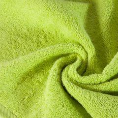 Ręcznik gładki w kolorze jasnozielonym 70x140cm - 70 X 140 cm - zielony 5