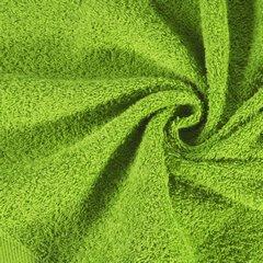 Ręcznik bawełniany gładki zielony 50x90 cm - 50 X 90 cm - zielony 5